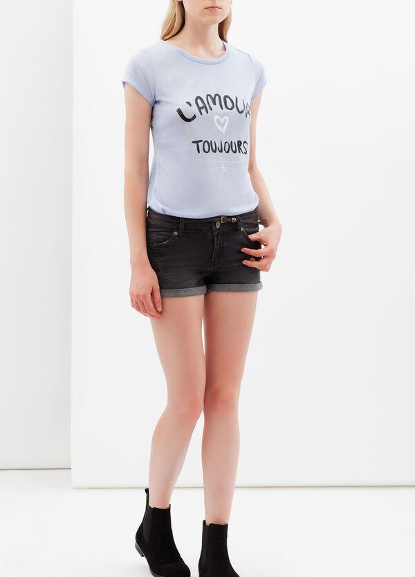 T-shirt stampata scollo rotondo | OVS