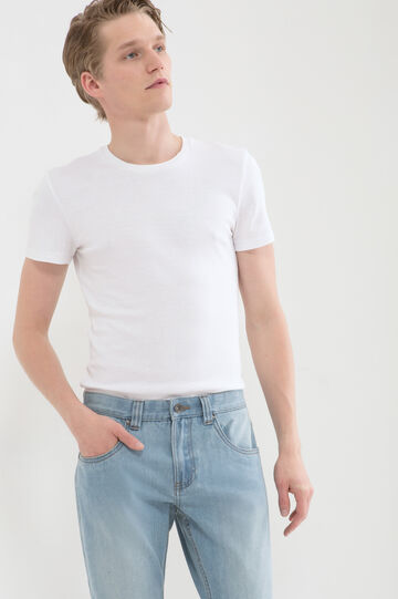 Jeans regular fit delavé