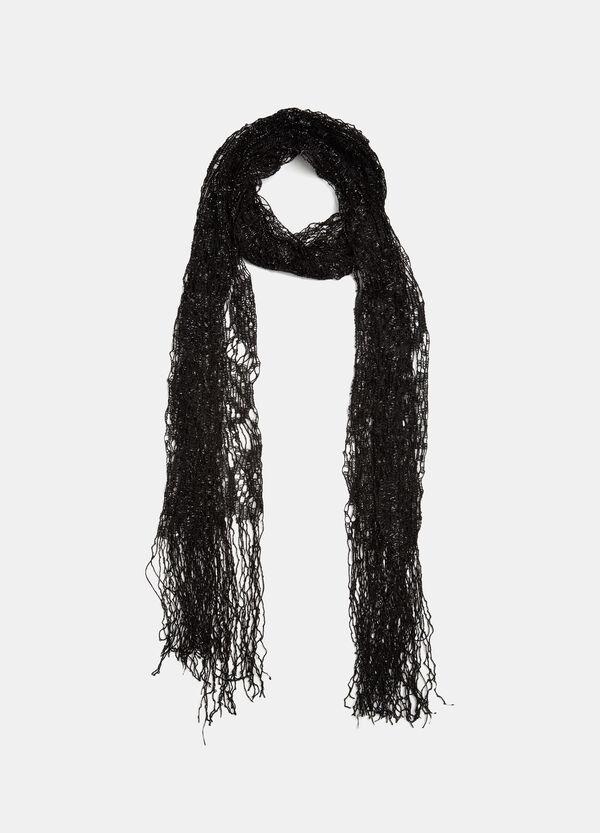 Lurex openwork scarf | OVS