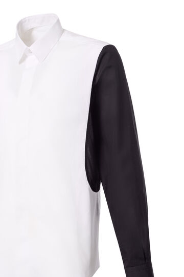 Shirt, Jean Paul Gaultier for OVS, Black/White, hi-res