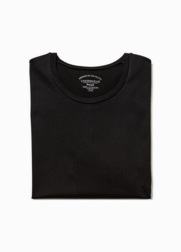 Cotton undershirt with crew neck | OVS