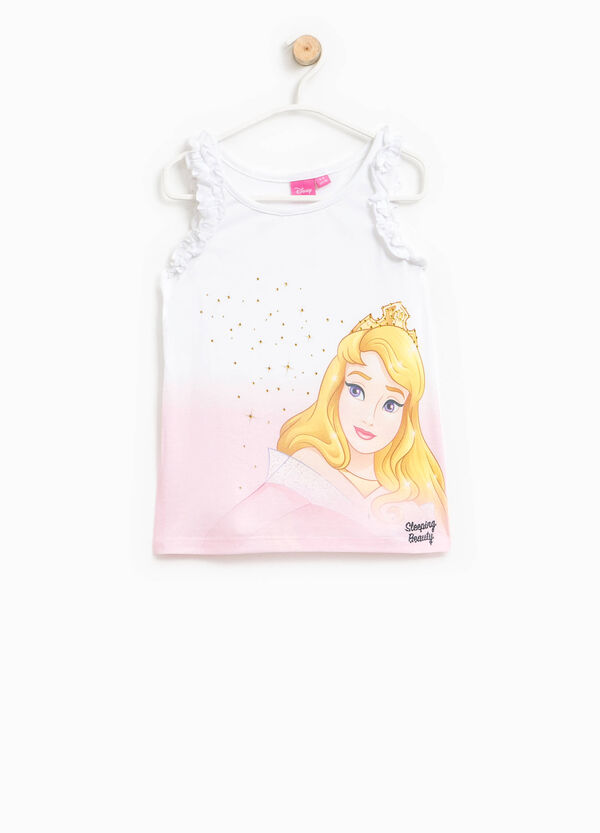 Top with Sleeping Beauty print | OVS