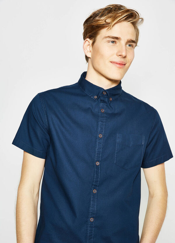 G&H cotton dobby casual shirt | OVS