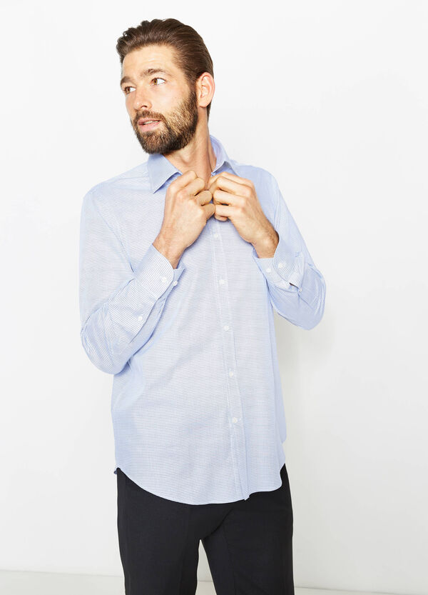 Regular-fit, formal shirt with spread collar | OVS