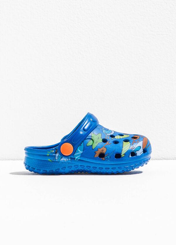 Slip-on sandals with openwork pattern | OVS