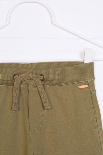 Shorts puro cotone tinta unita