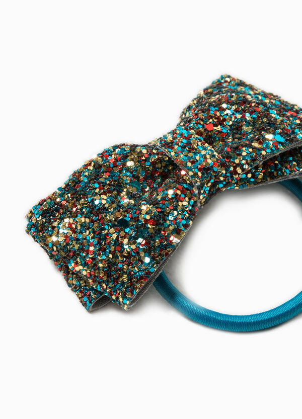 Hair tie with bow and sequins | OVS