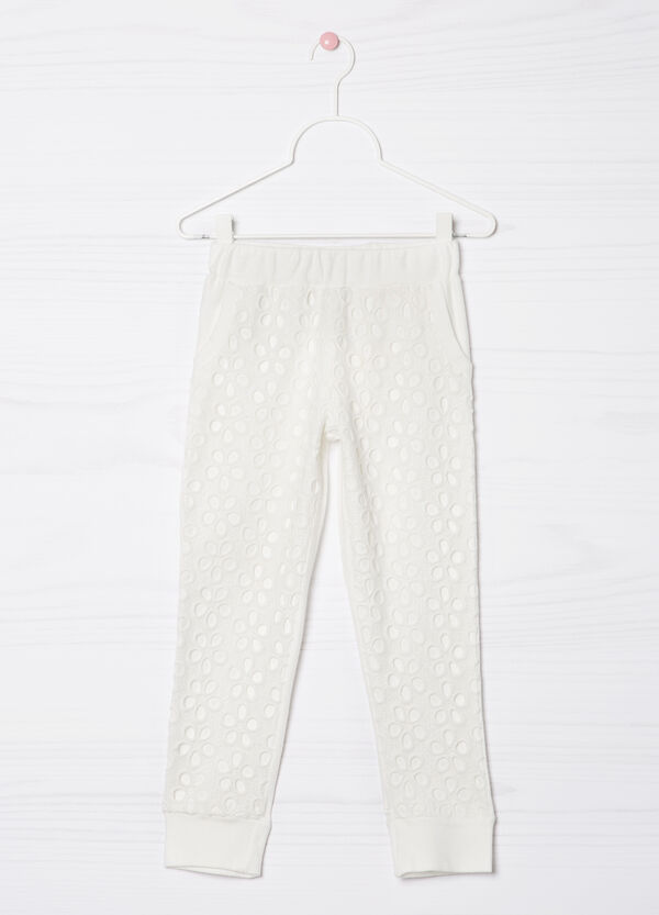 Openwork cotton trousers | OVS
