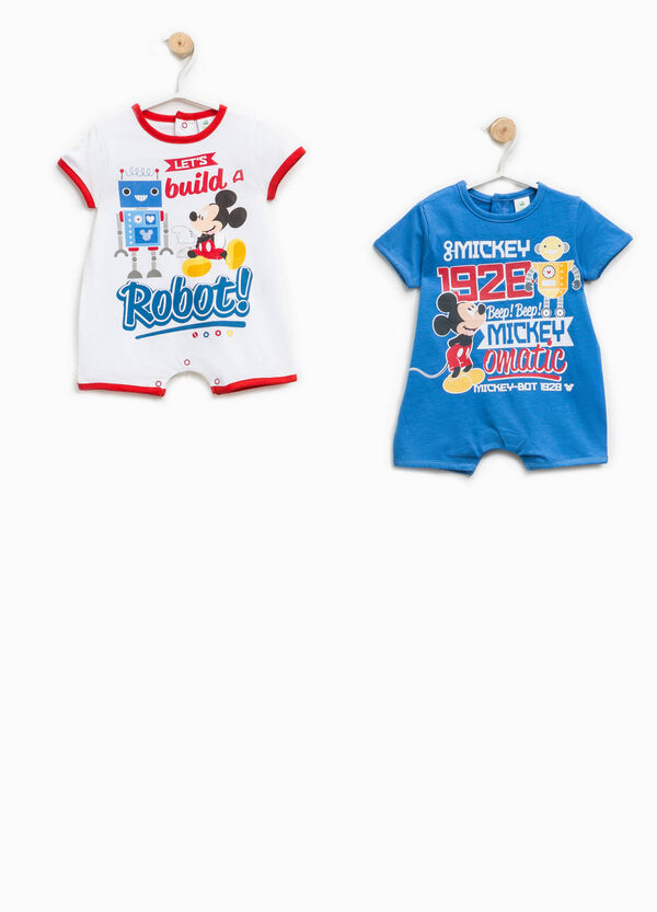 Two-pack Mickey Mouse Robot onesies | OVS