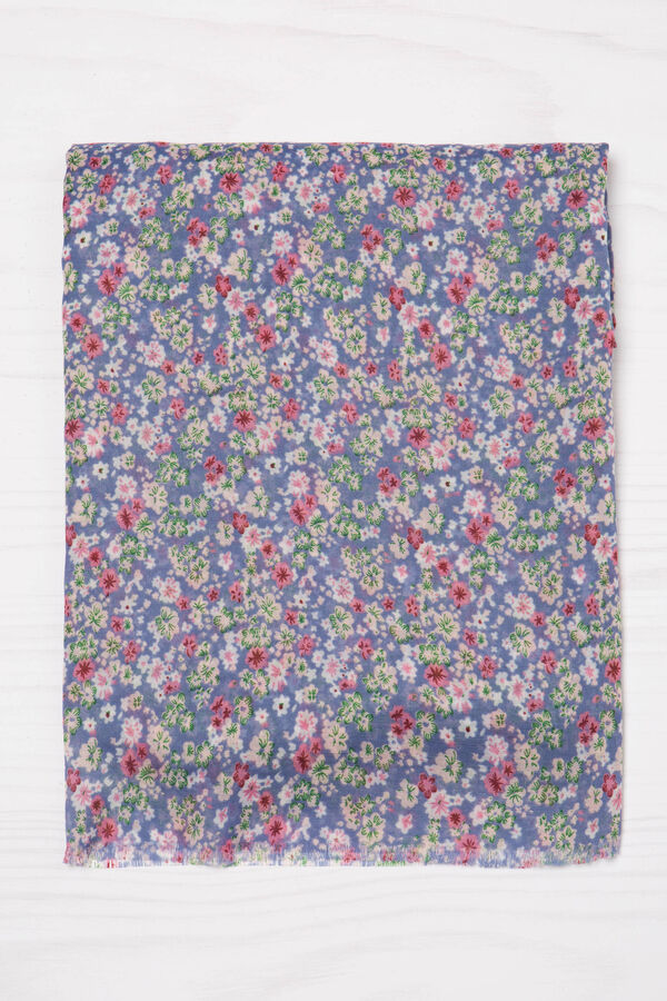 Floral pattern scarf | OVS