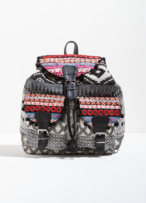 Ethnic pattern backpack | OVS