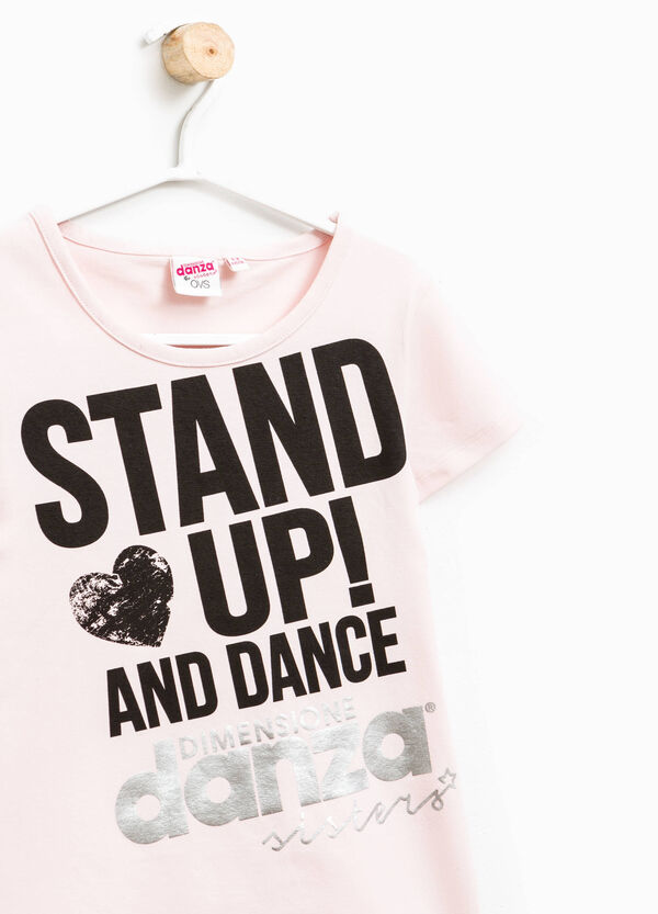 Dimensione Danza T-shirt with lettering print | OVS