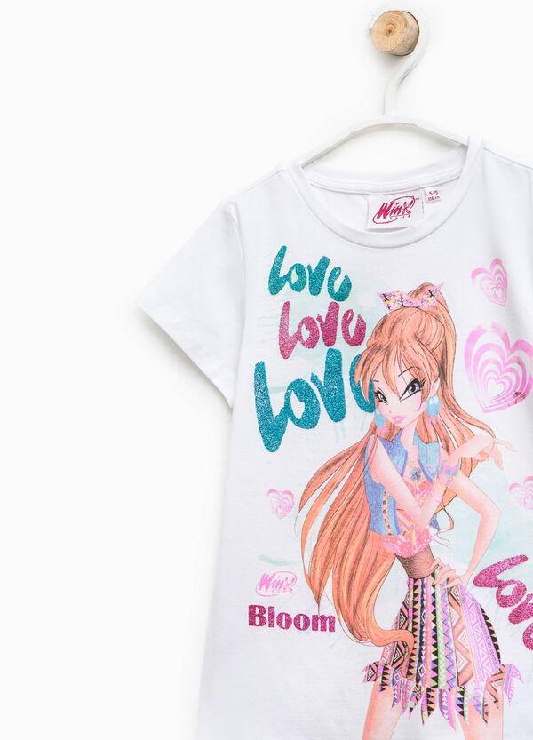 Winx glitter print T-shirt | OVS