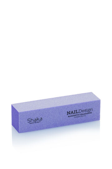 Cube for natural nails., Purple, hi-res