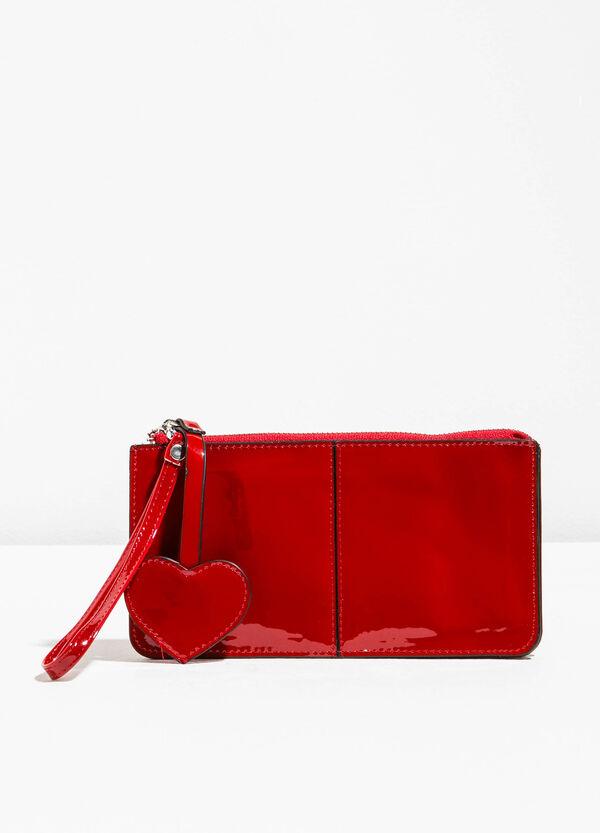 Shiny purse with wrist strap | OVS