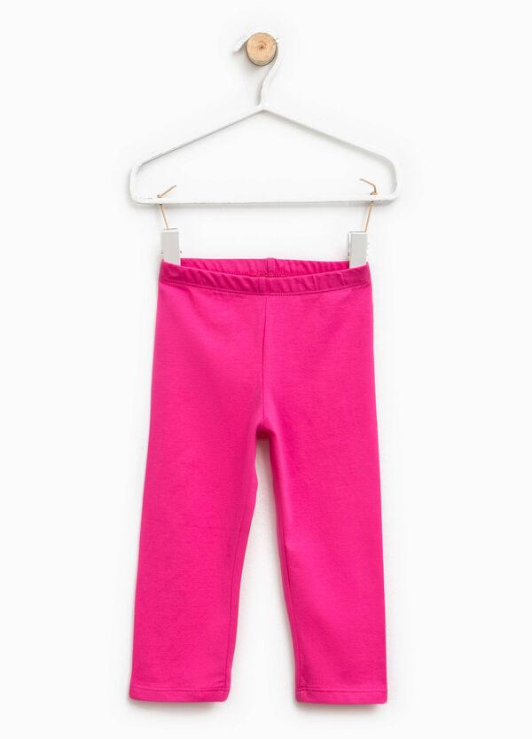 Leggings in cotone vita elasticata | OVS
