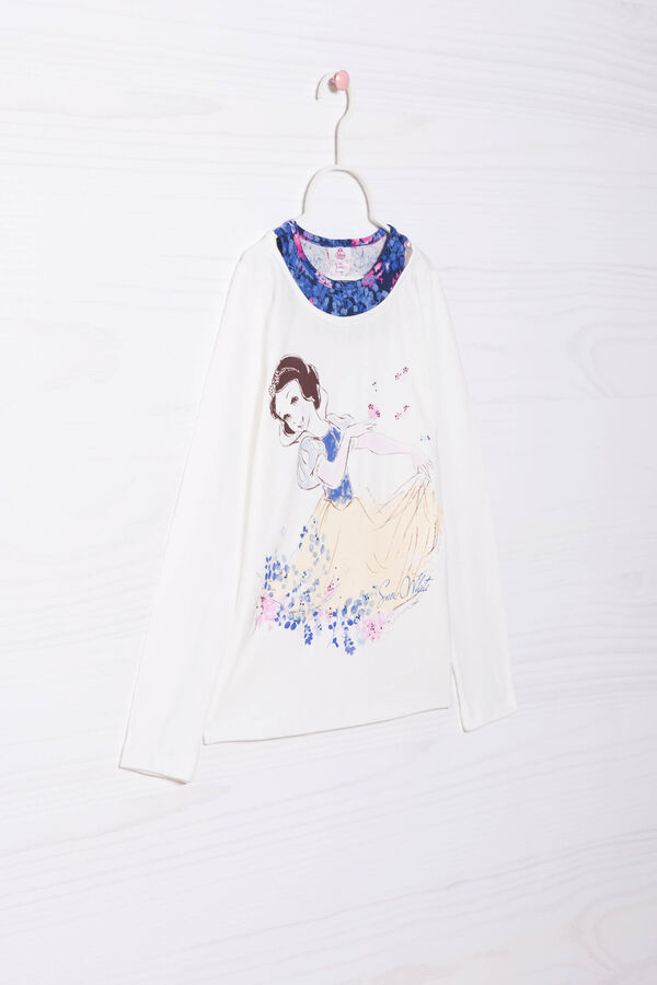 Stretch T-shirt with Snow White print | OVS