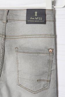 Jeans stretch slim fit, Grigio, hi-res