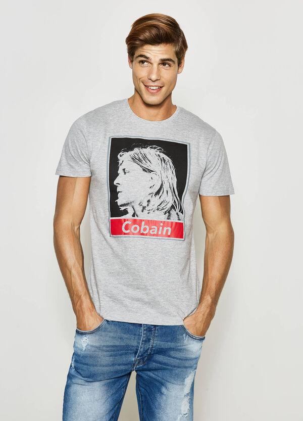 T-shirt in cotone stampa musicisti | OVS