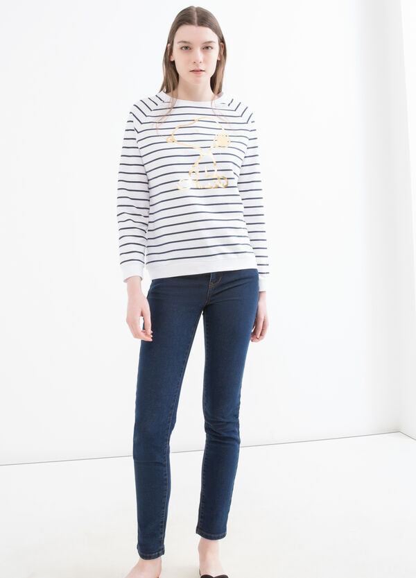 Sweatshirt with Snoopy print | OVS