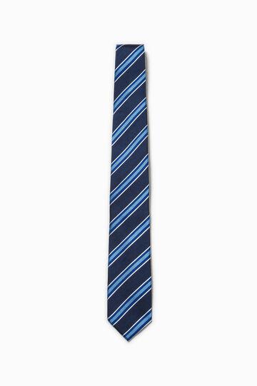 100% silk tie with stripes