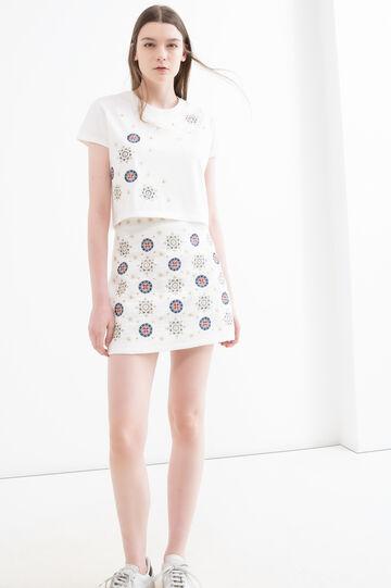 T-shirt OVS Arts of Italy, Galla Placidia, Milky White, hi-res