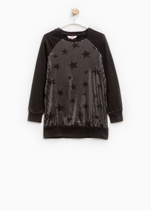 Stretch dress with star print | OVS