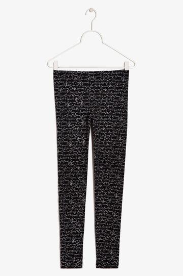 Stretch pants, Black, hi-res