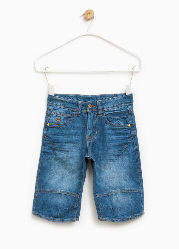 Bermuda di jeans effetto used | OVS