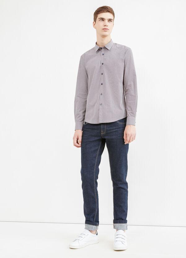 Camicia casual cotone stampata | OVS