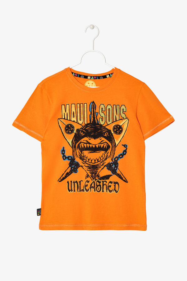 T-shirt with print by Maui and Sons | OVS