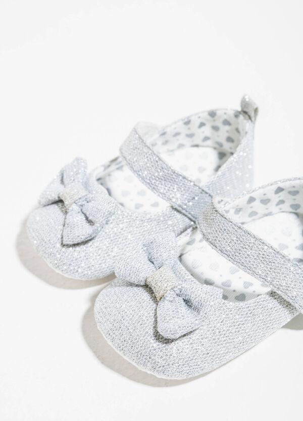 Ballerine glitterate con fiocchetto | OVS