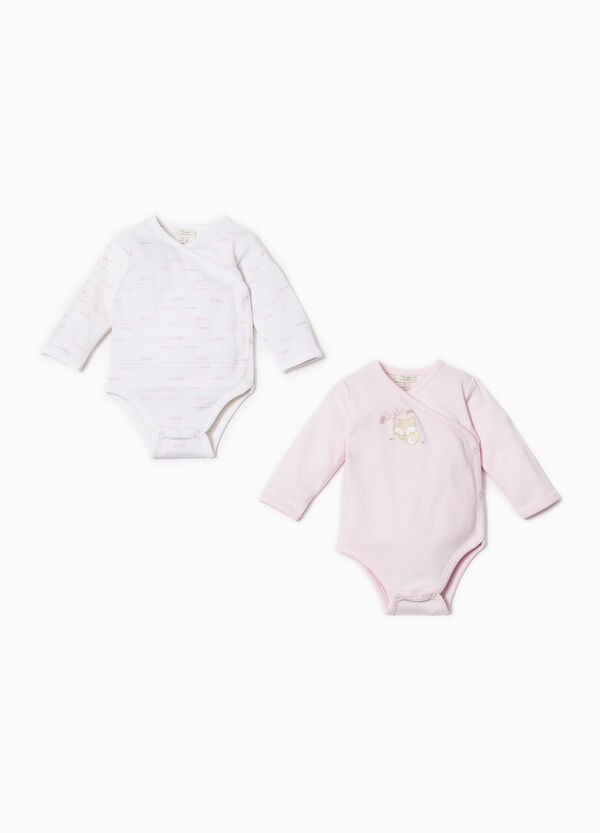 Two-pack bodysuits in 100% cotton | OVS