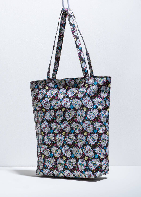 Bolso shopper con estampado | OVS