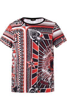 T-shirt Jean Paul Gaultier for OVS, Nero/Rosso, hi-res
