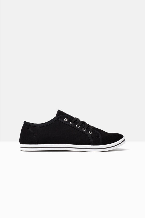 Canvas lace-up sneakers | OVS