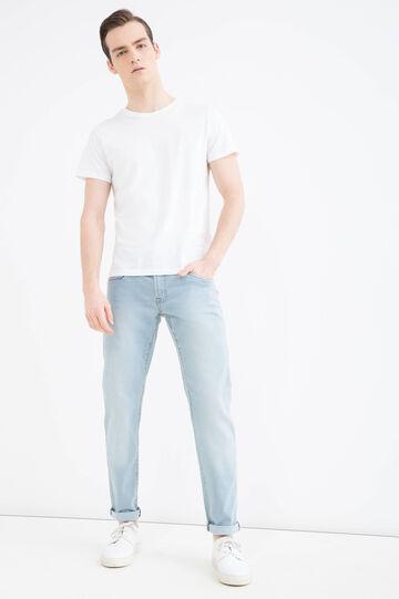 Jeans skinny fit delavé, Denim, hi-res