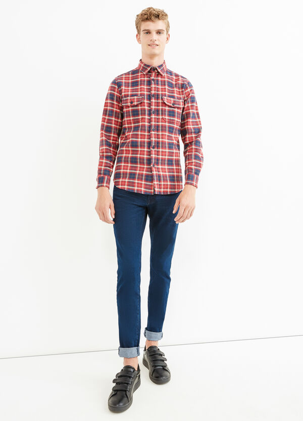 G&H casual check shirt in cotton | OVS