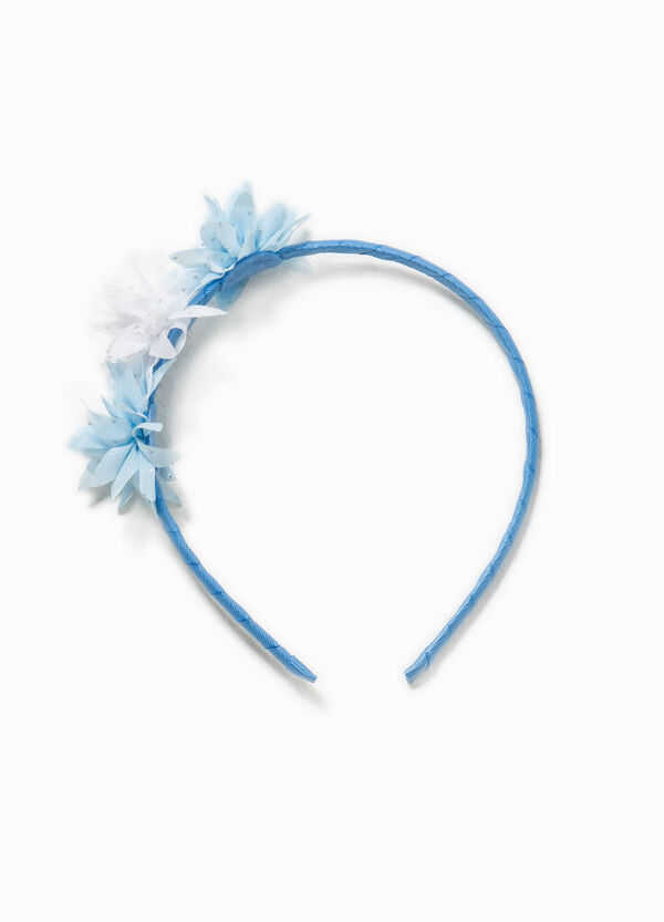 Hairband with tulle flowers   OVS