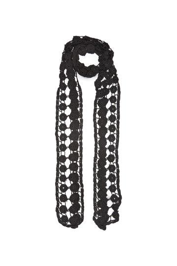 Sciarpa pura viscosa a crochet