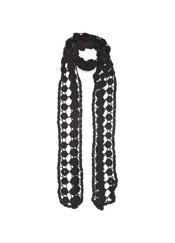 Sciarpa pura viscosa a crochet | OVS