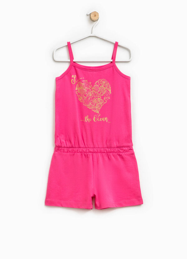 Bodysuit dress with glitter print | OVS