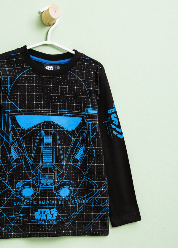 Star Wars maxi print cotton T-shirt | OVS