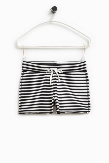 Smart Basic stretch striped shorts