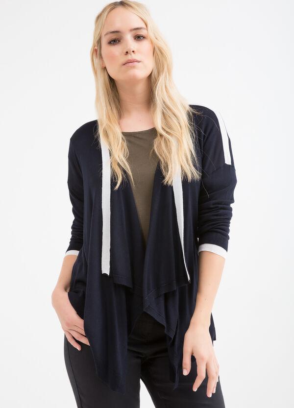 Curvy cardigan with shawl neck | OVS