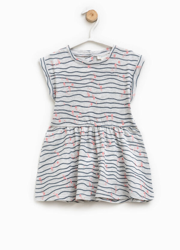 Dress with all-over print | OVS