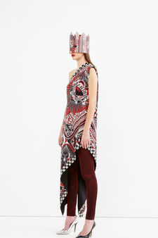 Jersey leggings, Jean Paul Gaultier for OVS, Red, hi-res