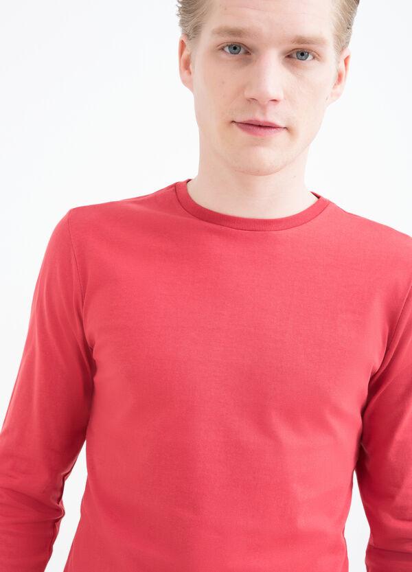 T-shirt maniche lunghe in cotone | OVS