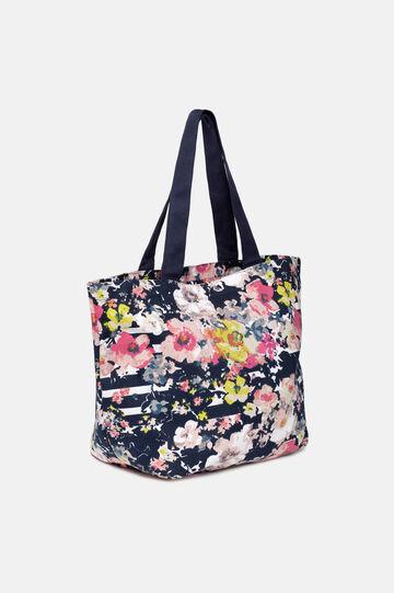 Patterned beach bag, Multicolour, hi-res