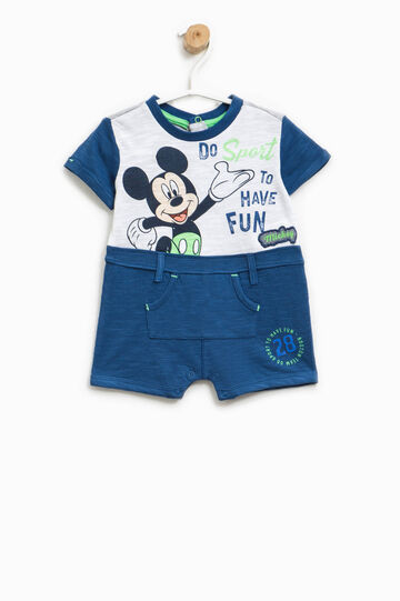 Pagliaccetto stampa Mickey Mouse, Bianco/Blu, hi-res